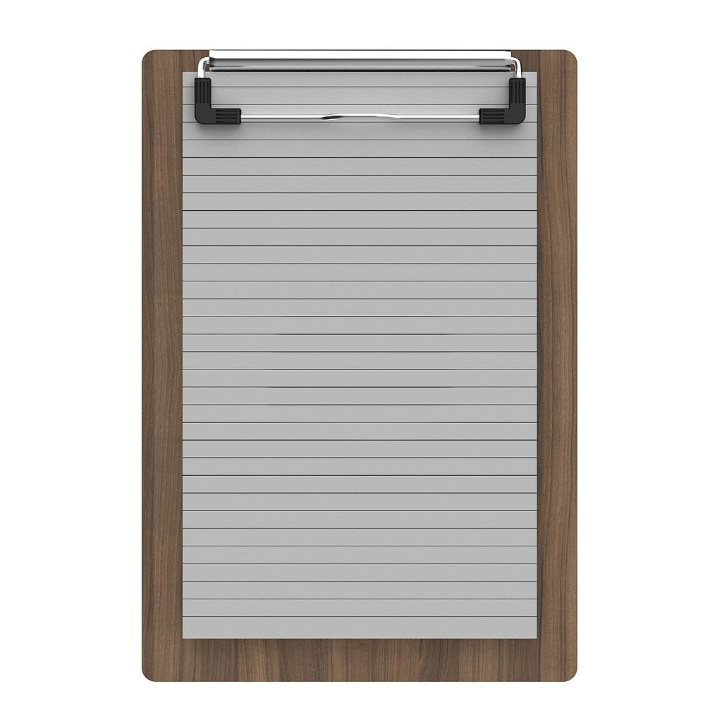 Finished Wood Memo Sized Clipboard