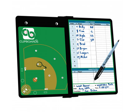 Baseball ISO Clipboard